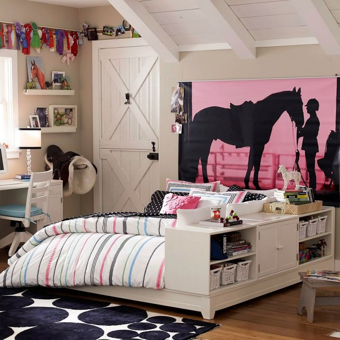 40 Girls' Room Designs Tip Pictures Impressive Teenage Girl Bedroom Design