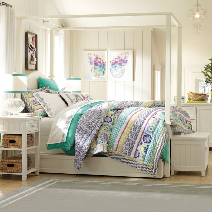 Simple Teen Girl Bedroom Ideas 100 girls' room designs: tip & pictures