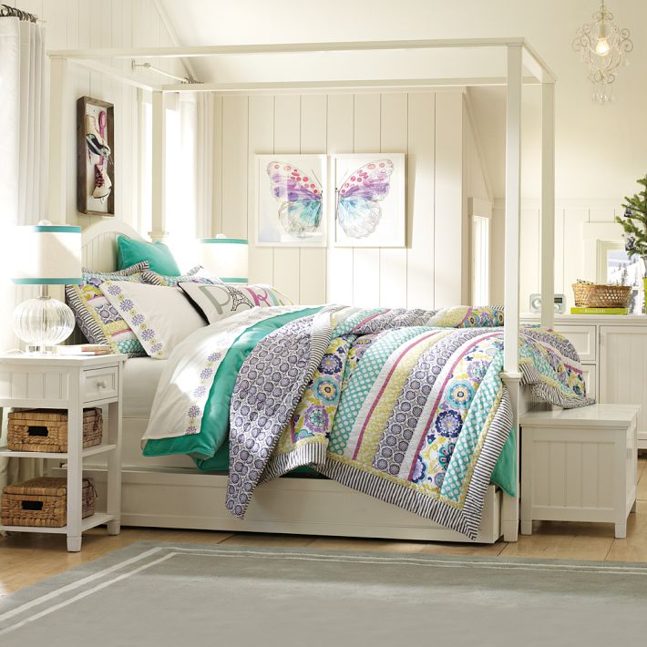 4 teen girls bedroom 23 interior design ideas - Girl bed room ...