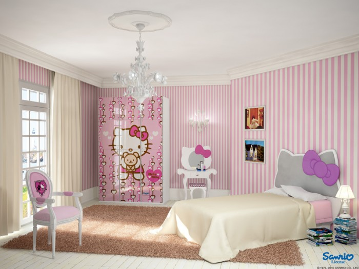 Interior Teen Bedroom Design 100 girls' room designs: tip & pictures
