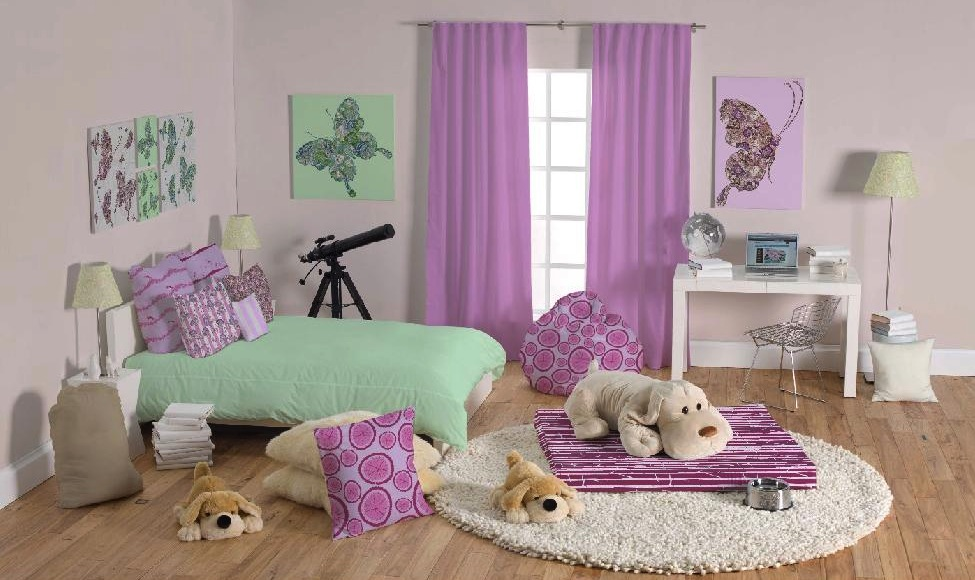 4 teen girls bedroom 6 interior design ideas for Cuartos para ninas modernos