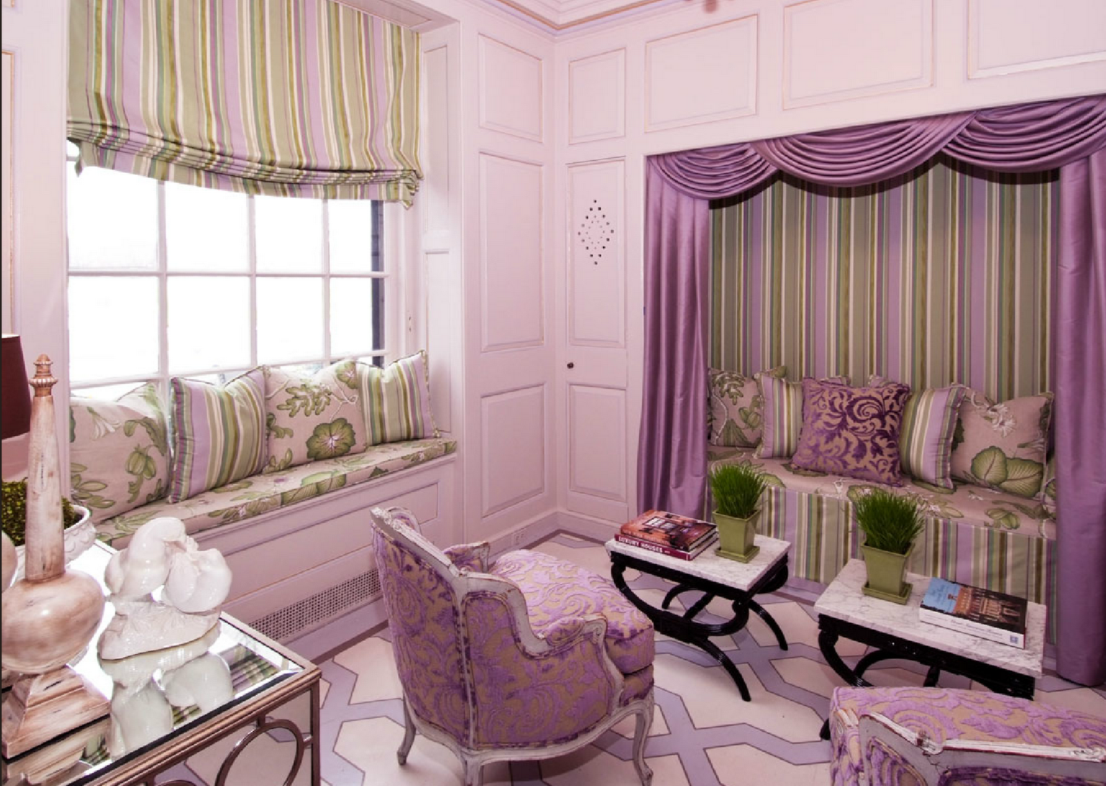 4 teen girls bedroom 7 interior design ideas - Purple room for girls ...