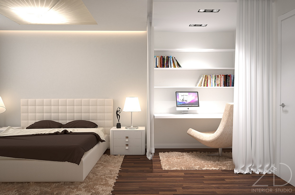 Modern bedroom interior design gallery for Home bedroom design photos