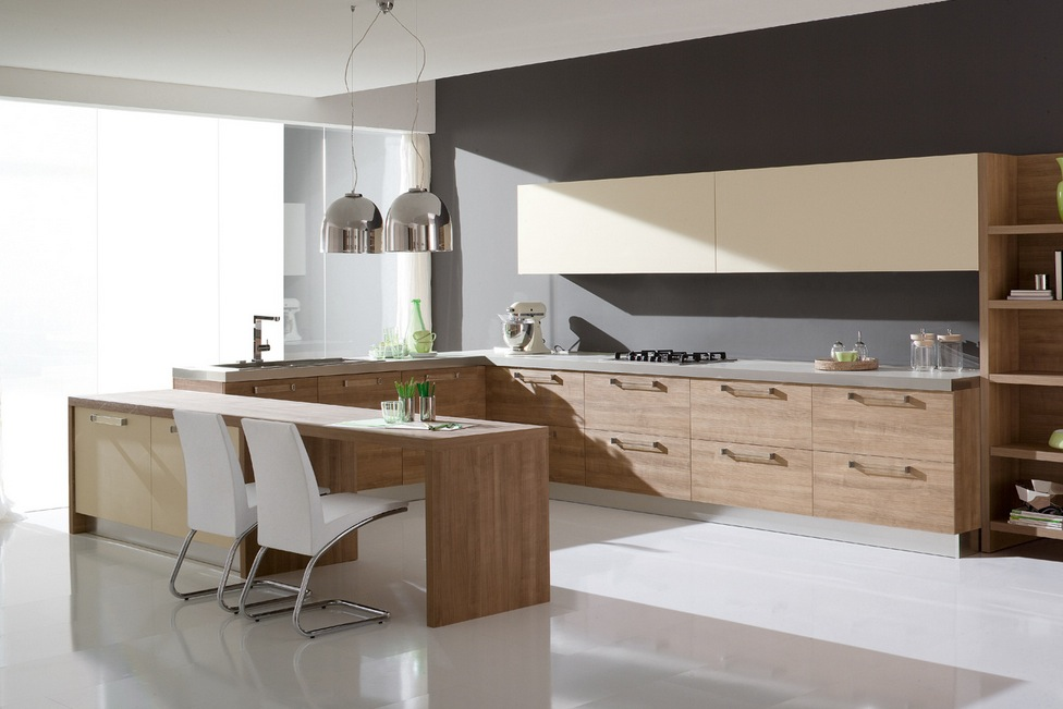 Kitchens from italian maker ged cucine for Italian modern kitchen design