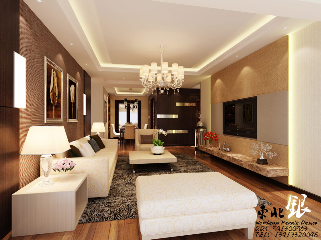 Classy living room china interior design ideas for Family room decor images