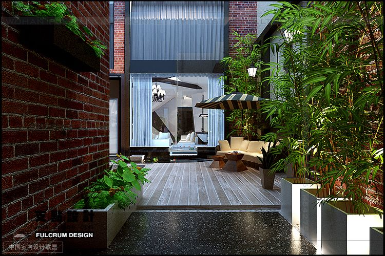 Courtyard deck interior design ideas for Interior courtyard designs ideas