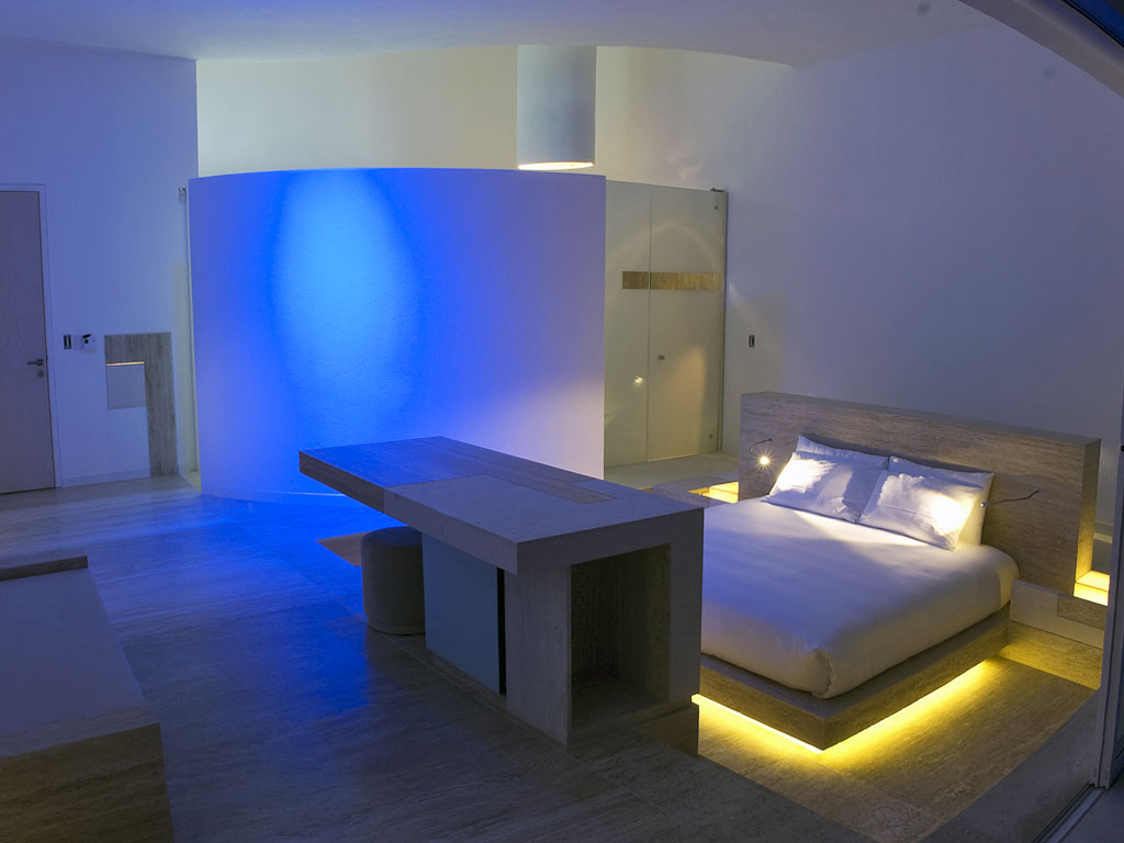 Romantic Bedroom Lighting For Nice Modern Bedroom Lighting Grey And Yellow Bed In Modern Master