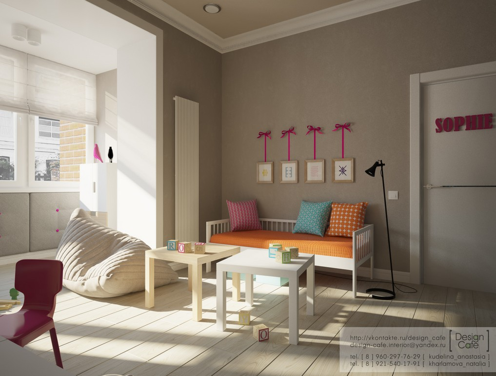 Living Room Ideas Young Family apartment for a young family