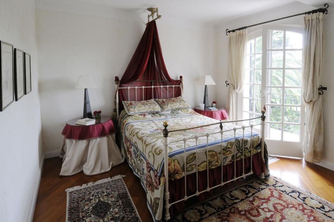 Traditional french country home for Designer inspired bedding