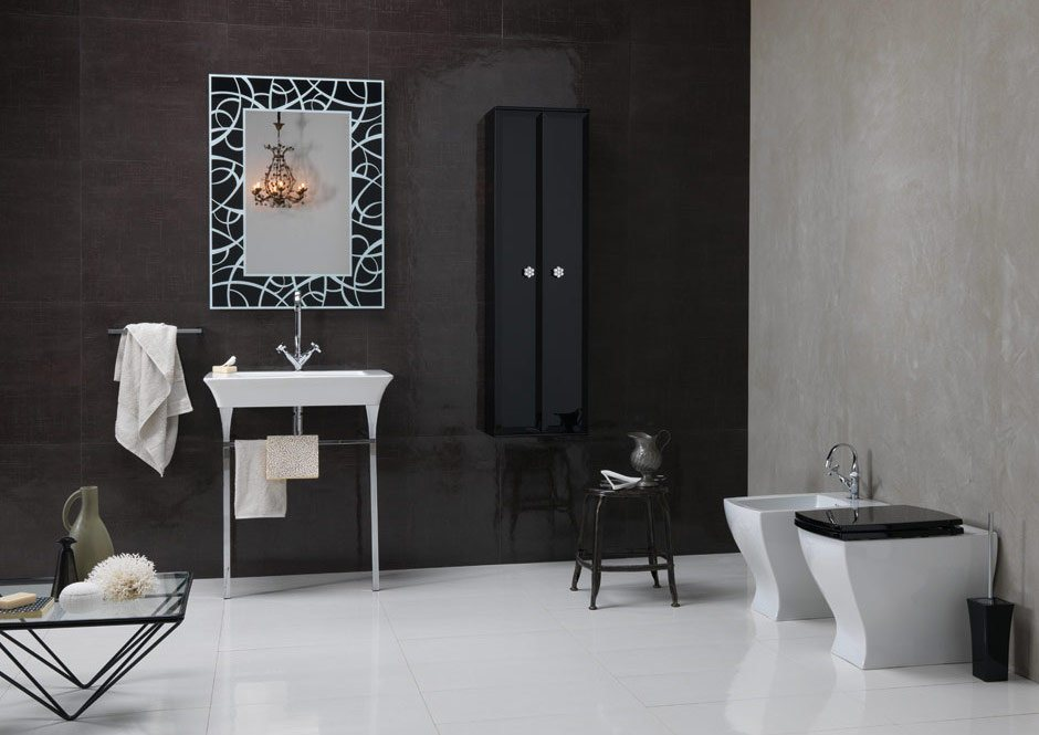 Modern bathroom inspiration for Wc deco modern
