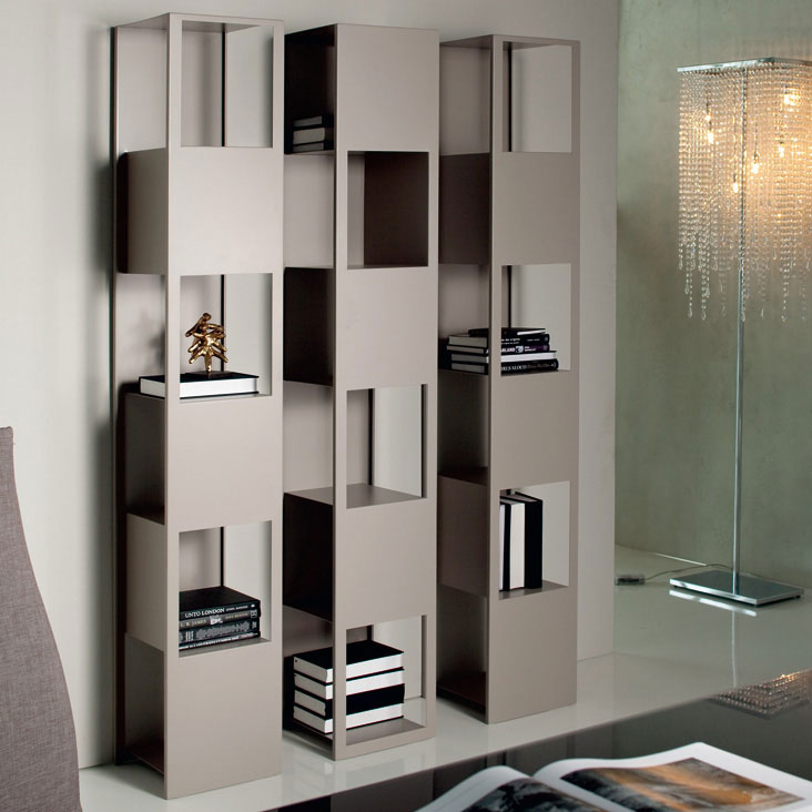 20 creative bookshelves modern and modular - Modern bookshelf plans ...