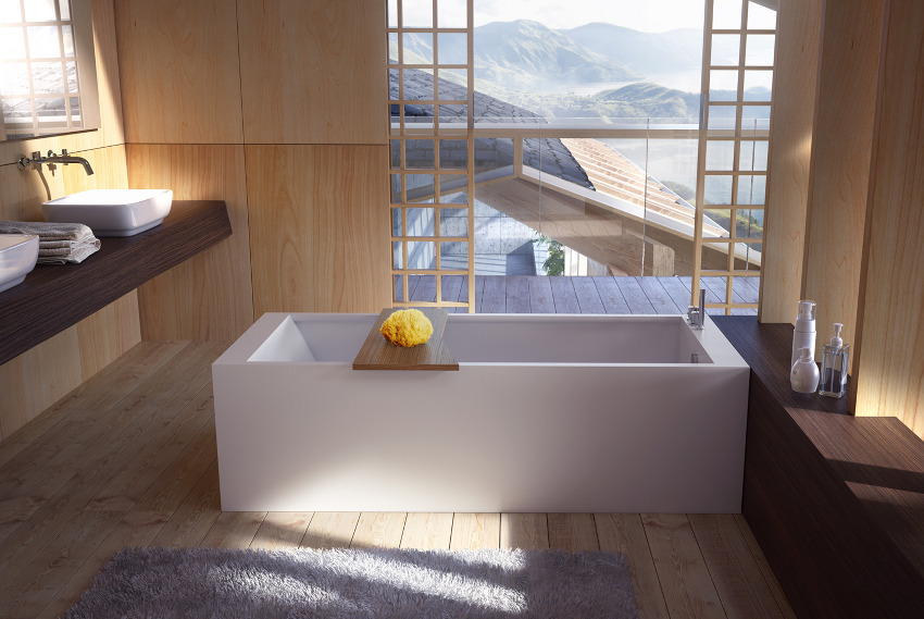 Danelon meroni natural japanese look bathroom interior design ideas Japanese bathroom interior design