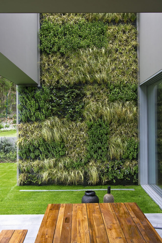 Vertical gardens for Jardin vertical exterior