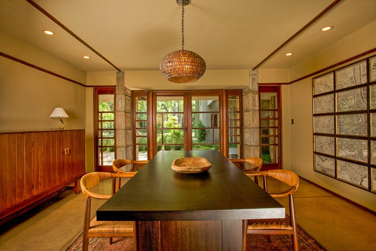 Frank lloyd wright 39 s millard house for sale - Lloyds architecture planning interiors ...