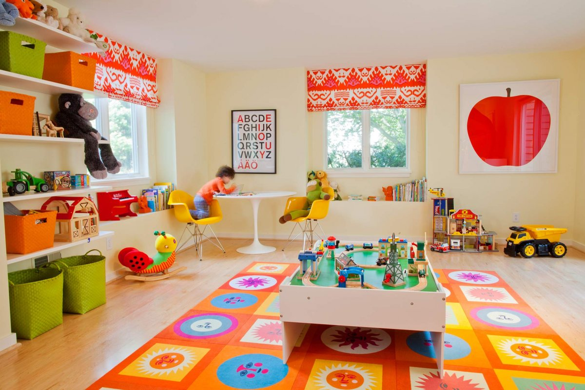 Childrens Play Room Beauteous Kids Playroom Designs & Ideas Review