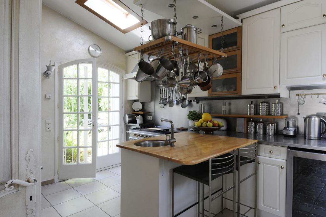 Traditional french country home - French country kitchens ...
