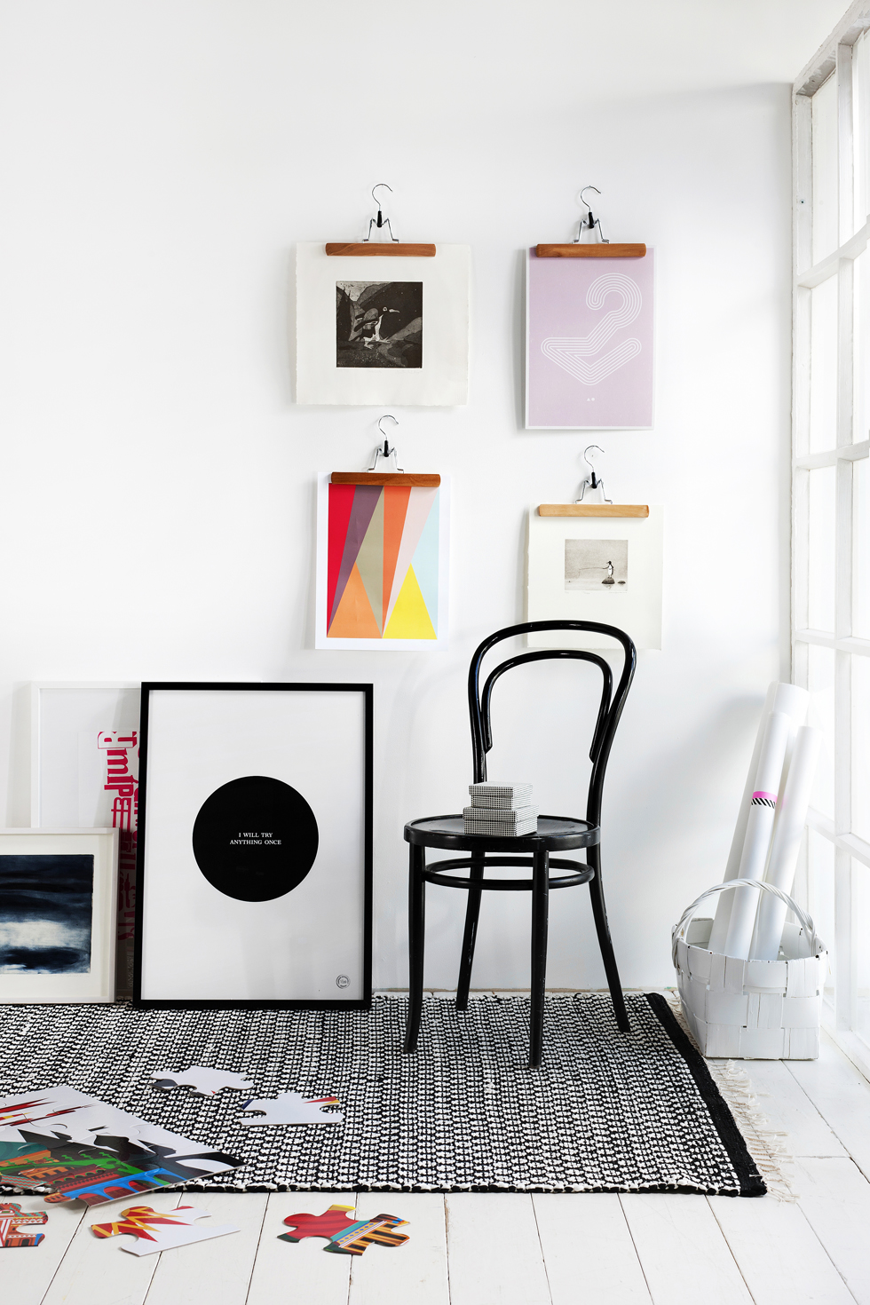 The art of hanging art for Hanging frames on walls