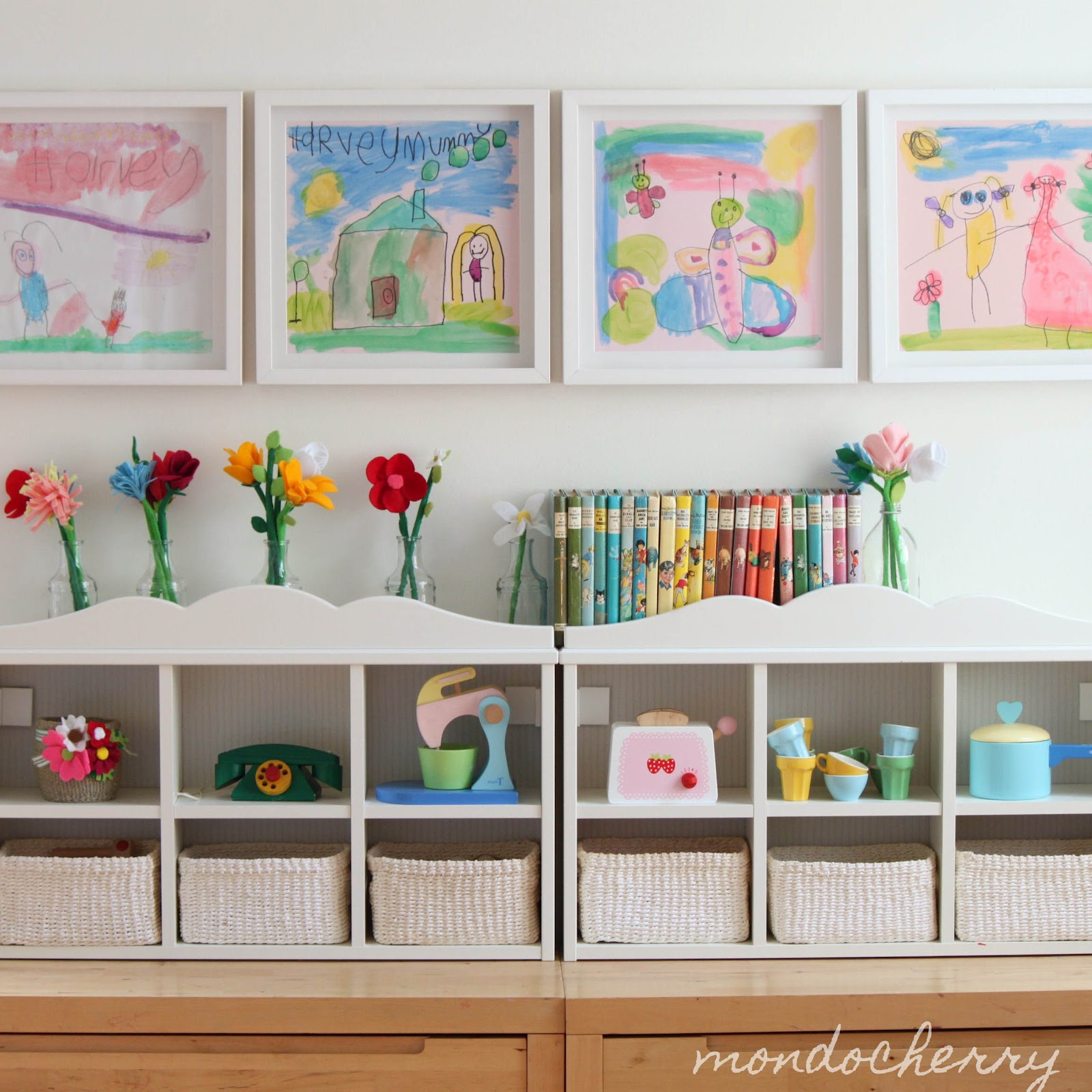 Kids playroom designs ideas for Small wall art