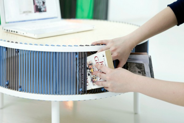 Noh Jooeun Yang Bomi- book storage desk