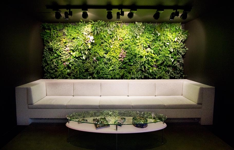 Vertical gardens for Interior designs with plants