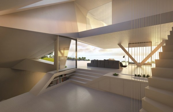 Plans 5 Modern Holiday House Greece