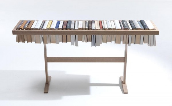 Raw Edges- Bookens book storage