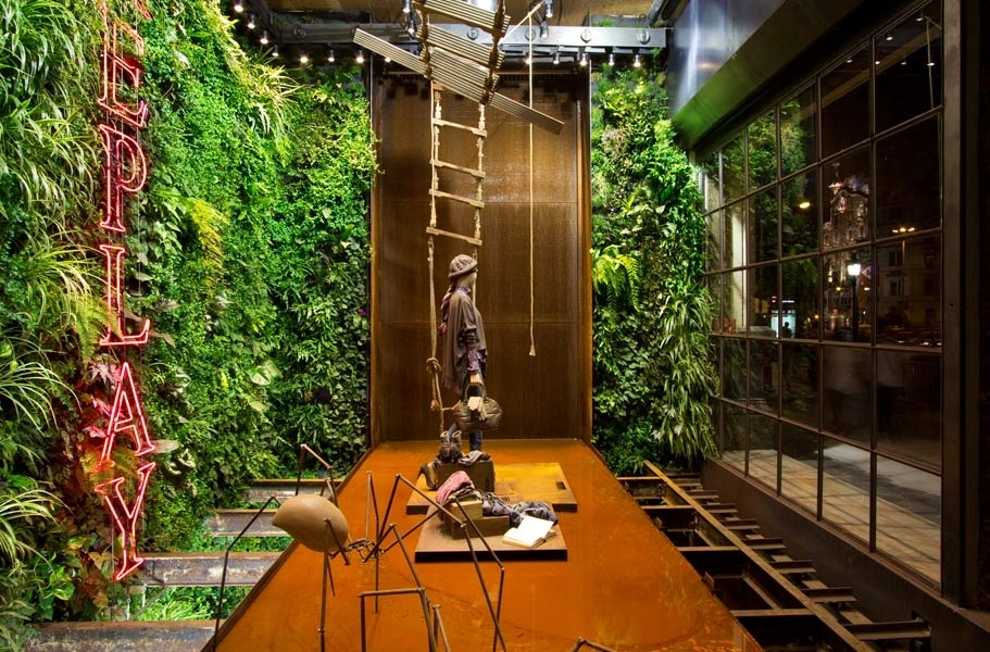Vertical gardens for Interior design bielefeld