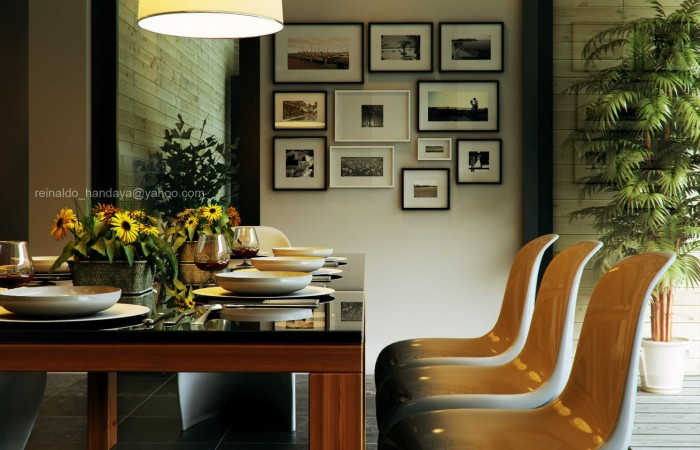 While set on a grid pattern, gallery walls don't have to be consistently squared. You may have an odd sized or uneven amount of pieces to hang so it's fine to go off the grid.