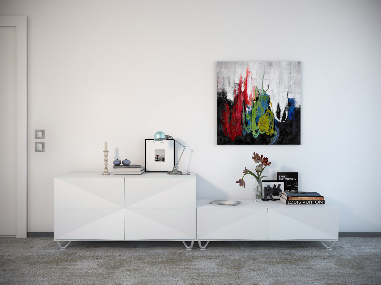 The art of hanging art for Interior wall art