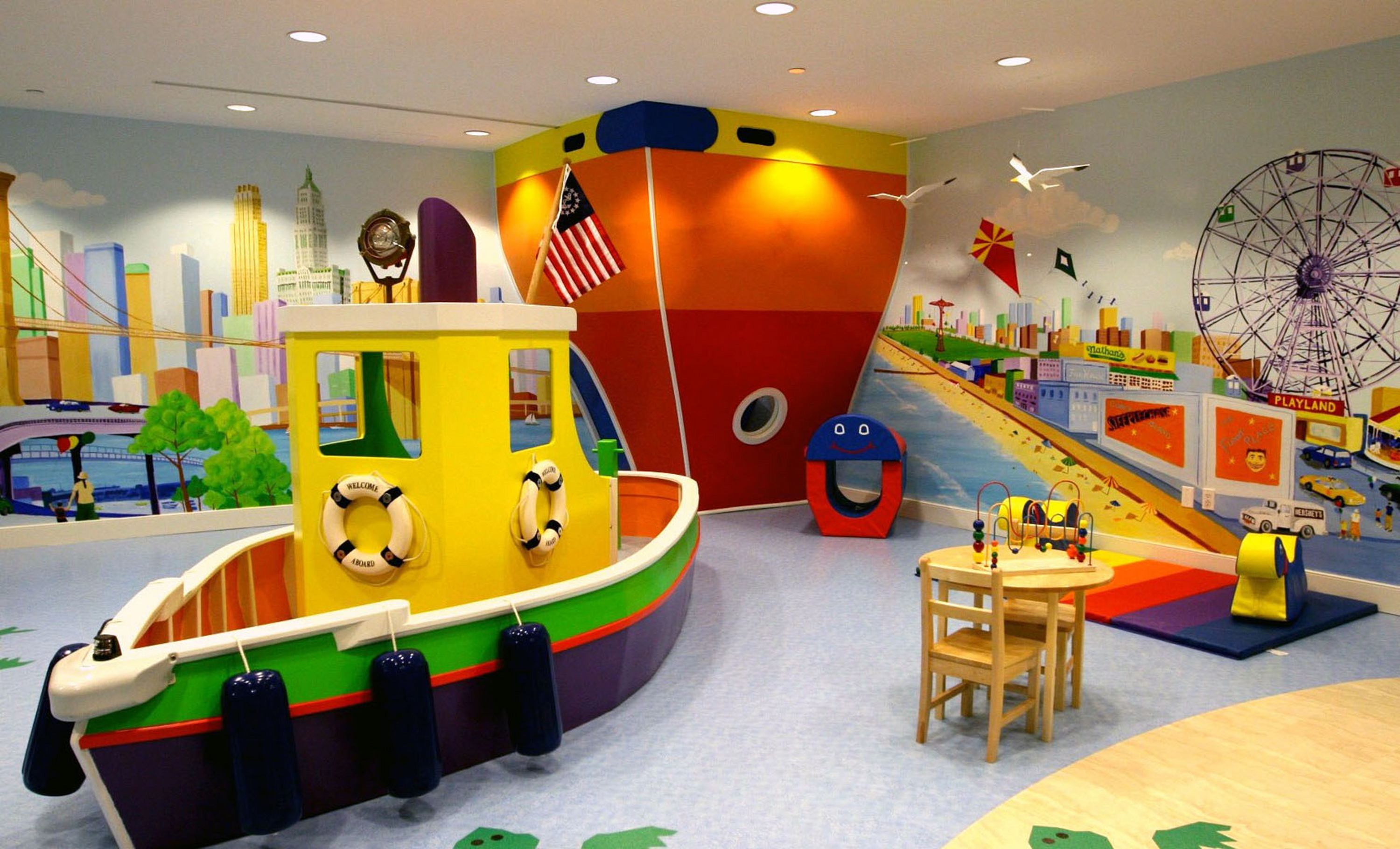 Kids playroom designs ideas for Design a house online for fun