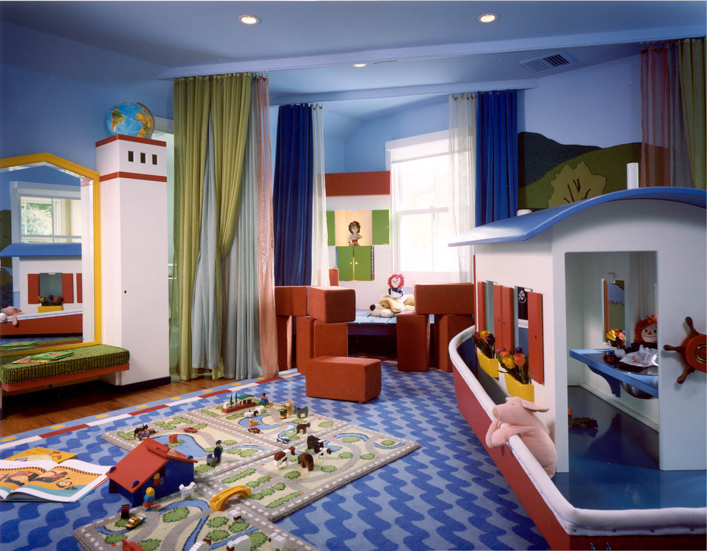 Kids playroom designs ideas Best color for kids room