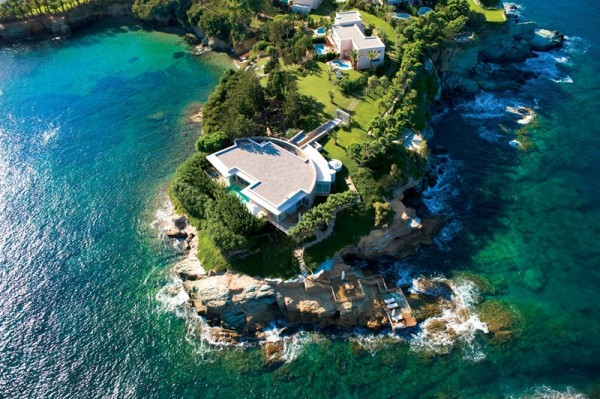 Considered one of the most exclusive and luxurious villas in the Mediterranean, Villa Begonia is surrounded by the sea while its myriad of courtyard water features abound.