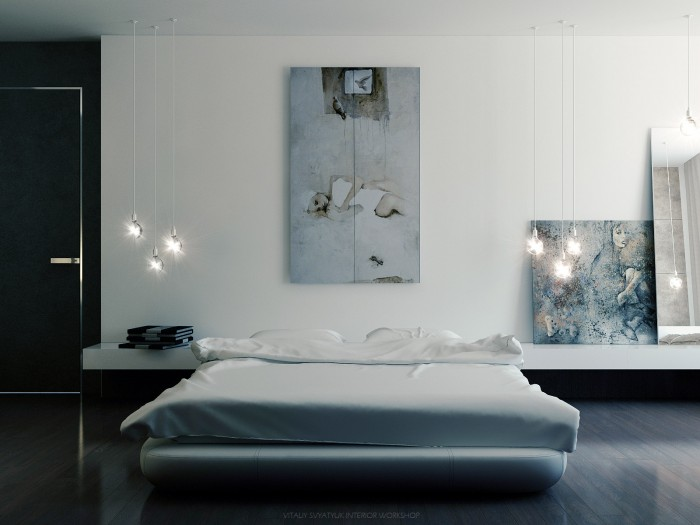 Modern art Vitaly Svyatyuk- Cool Art Cool Pallete Bedroom