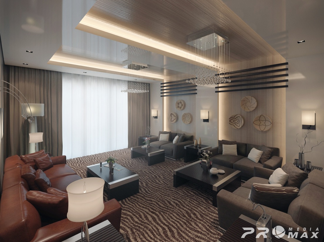 Apartment modern 2 living room 1 interior design ideas for Living room designs apartment