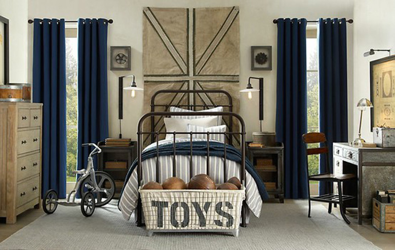 Like Architecture   Interior Design  Follow Us. blue and natural antique boys room union jack   Interior Design Ideas