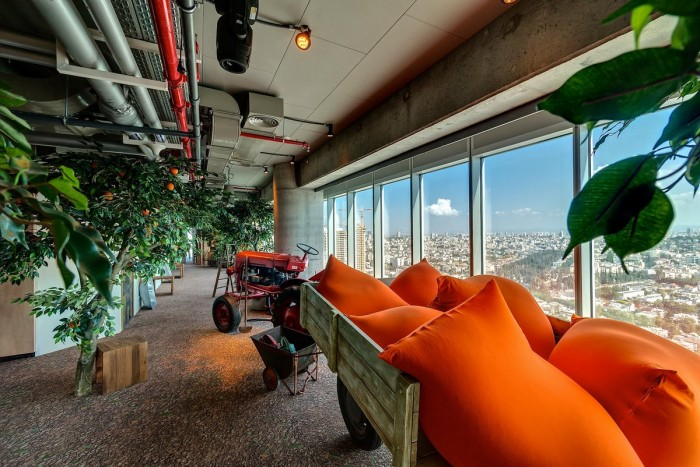 Google Offices in Tel Aviv, Israel