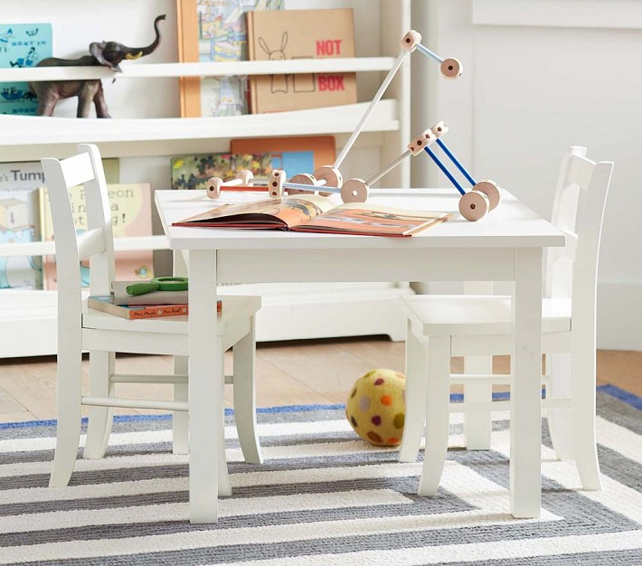 hamptons style child\'s playromm white orgainic and striped ...