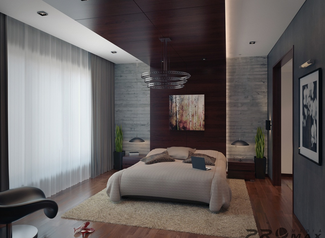Modern apartment bedrooms - Modern Apartment Bedrooms 1
