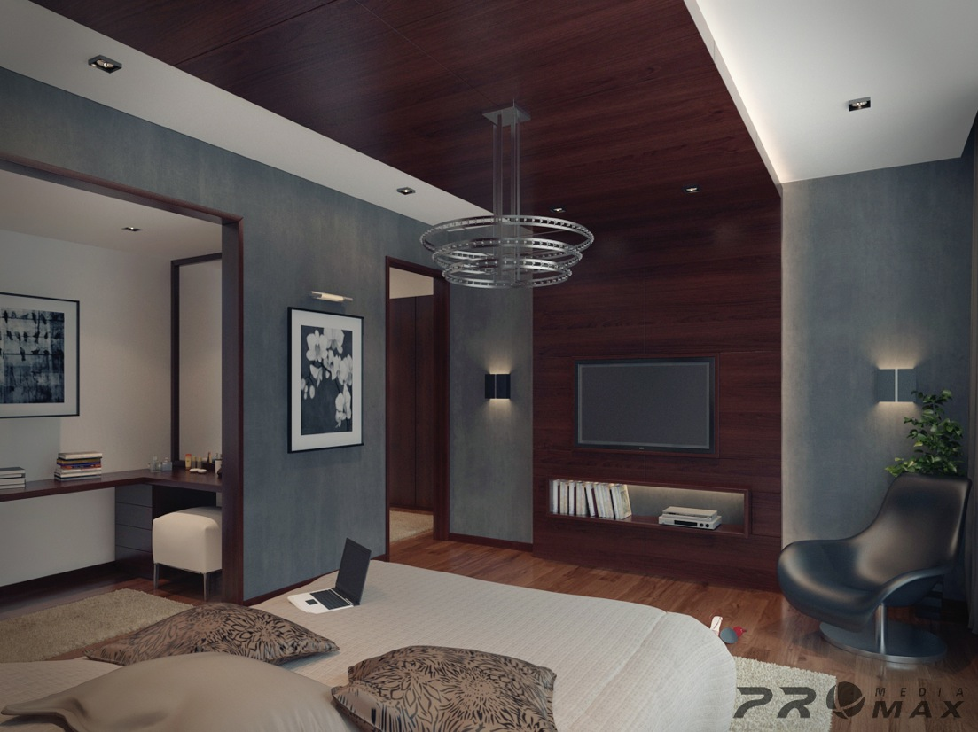 Modern apartment 1 bedroom 3 interior design ideas for I bedroom apartment