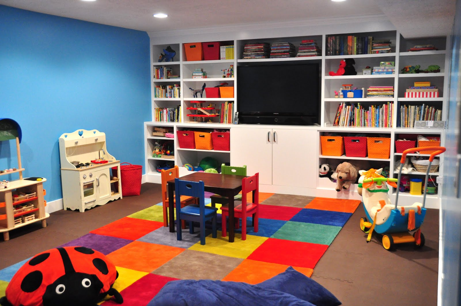 Kids Basement Playroom Ideas 1600 x 1063