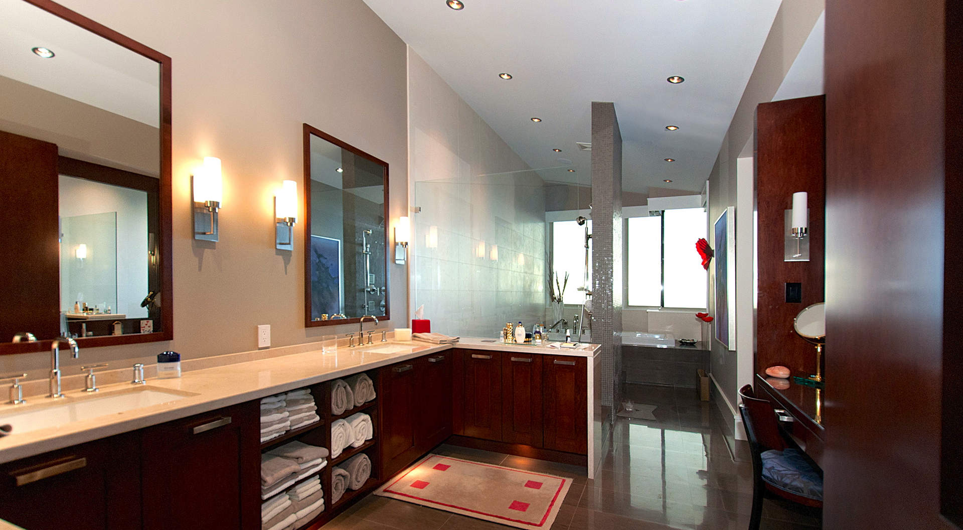 Penthouse Master Bathroom - Spectacular west coast penthouse in vancouver s aerie ii