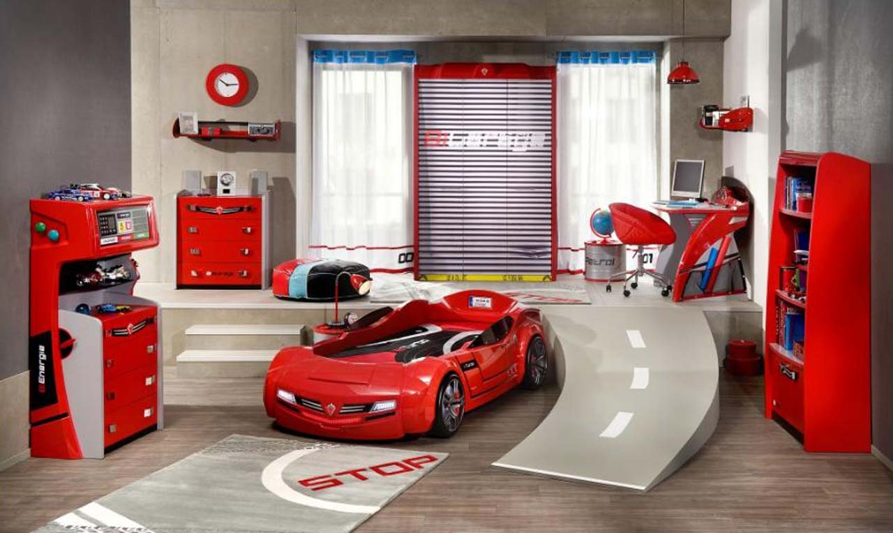 Boys car bedroom ideas - Boys Car Bedroom Ideas 1