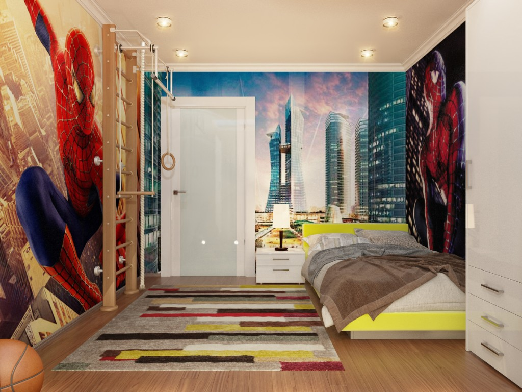 Cool boys bedroom designs - Cool Boys Bedroom Designs 37