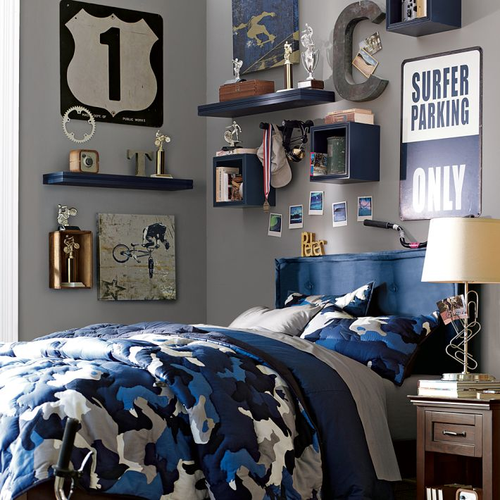 Wall Decor For Guys Room : Boys room designs ideas inspiration