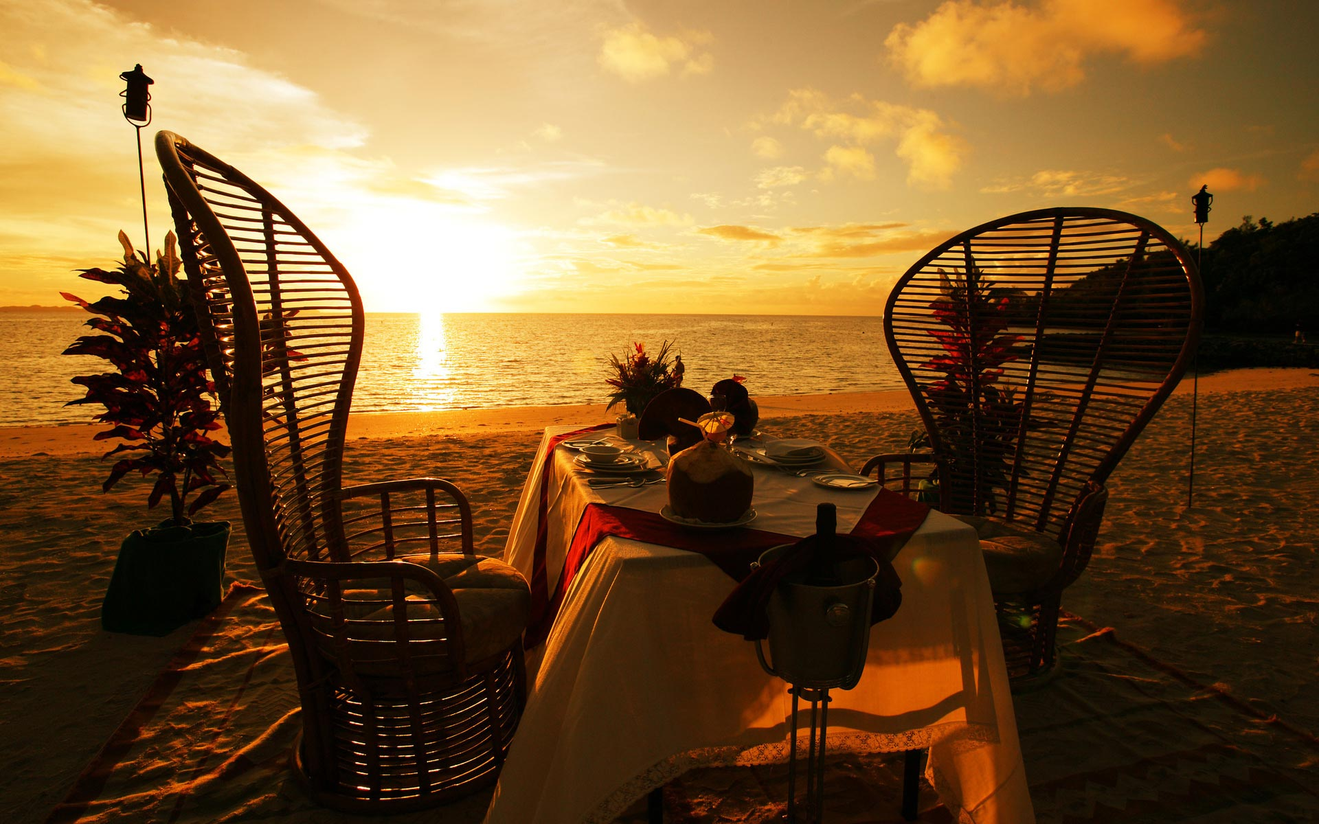 romantic dinner wallpaper for - photo #14