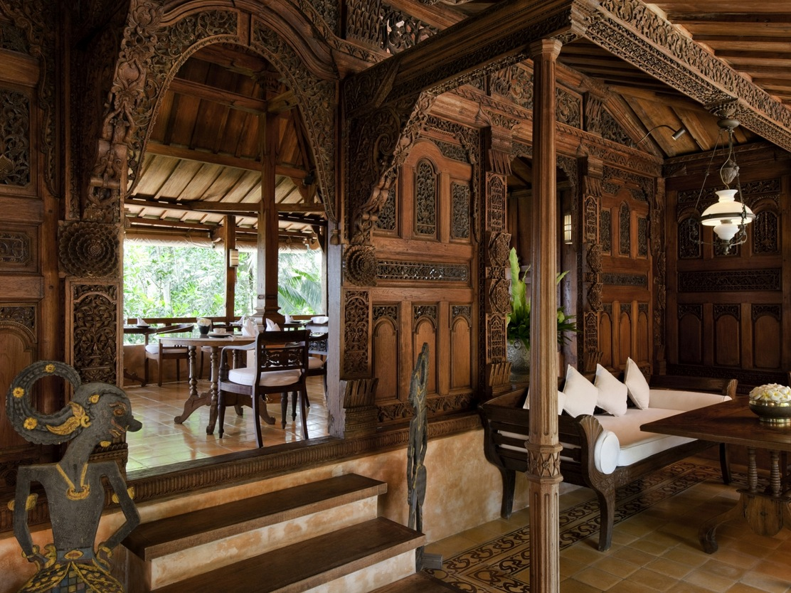 Como shambhala estate yet another stunning bali retreat for Wallpaper traditional home
