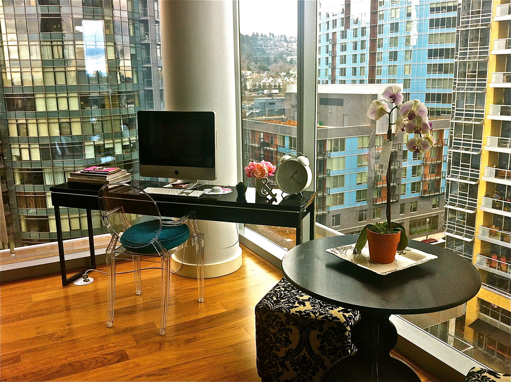 Workspaces with views that wow for Best home office in the world