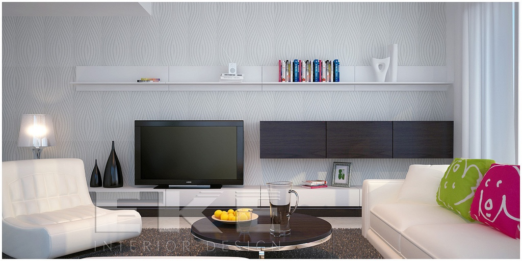 tuananh eke s modern white lounge with contrasting and On lounge room accessories