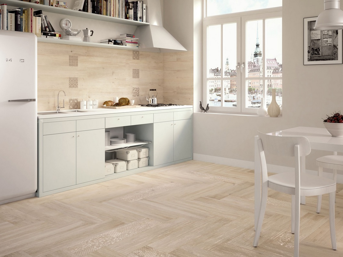 Wood Floor For Kitchens Wood Look Tiles