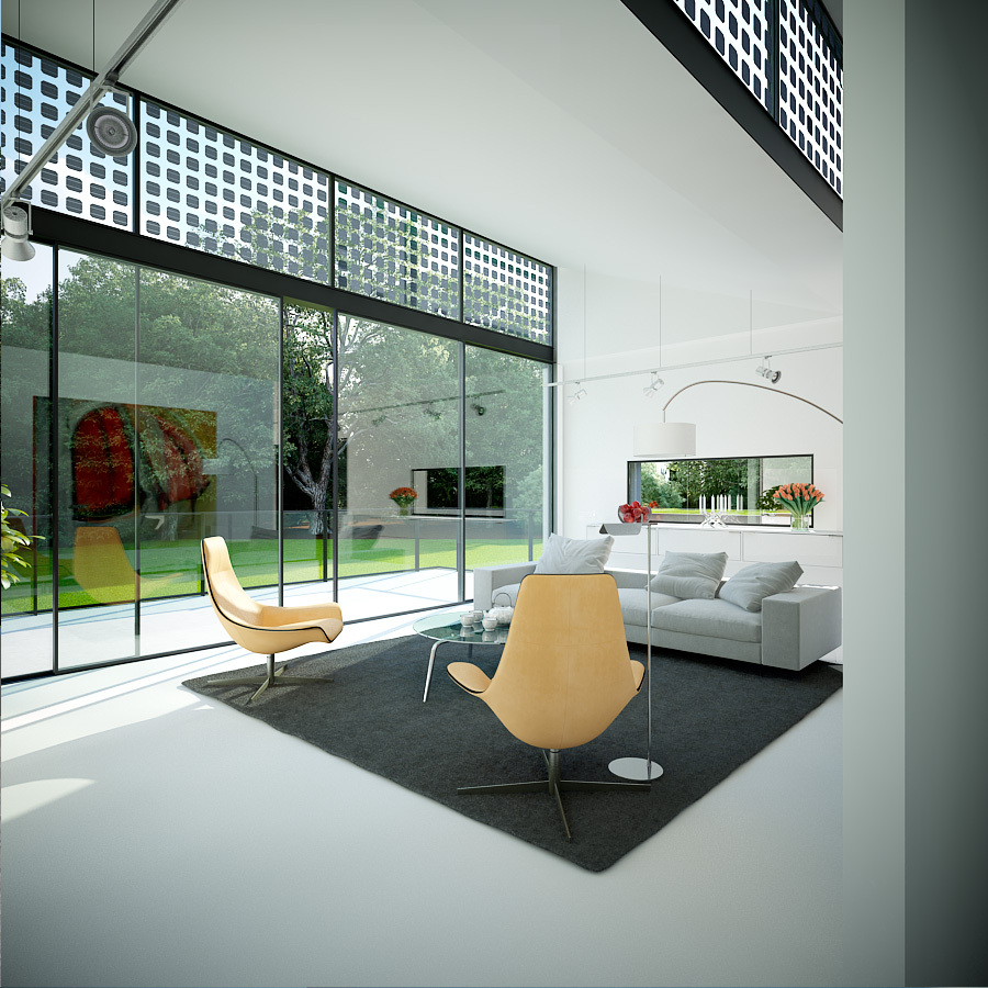Glass Flooring In Living Room Modern Diy Art Designs